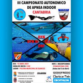 III CAMPEONATO AUTONOMICO DE APNEA INDOOR DE CANTABRIA